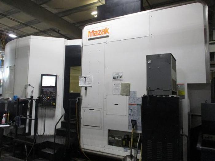 "Used 73.82""X, 61""Y, 52.95""Z, MAZAK, INTEGREX E-1550V10II, 2011, CNC 5-AXIS MILL/TURN CENTER"