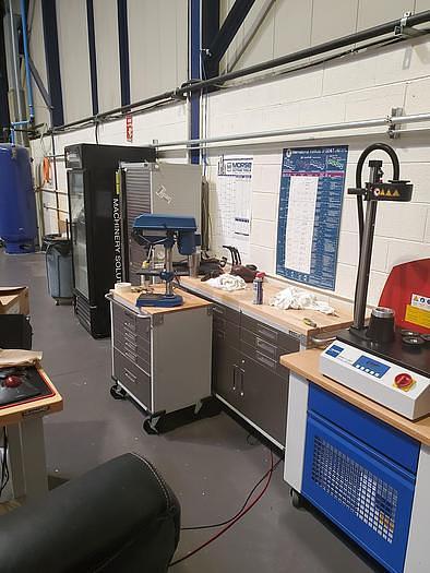 2017 GROB  G550 5 AXIS HORIZONTAL MACHINING CENTER, LIKE NEW
