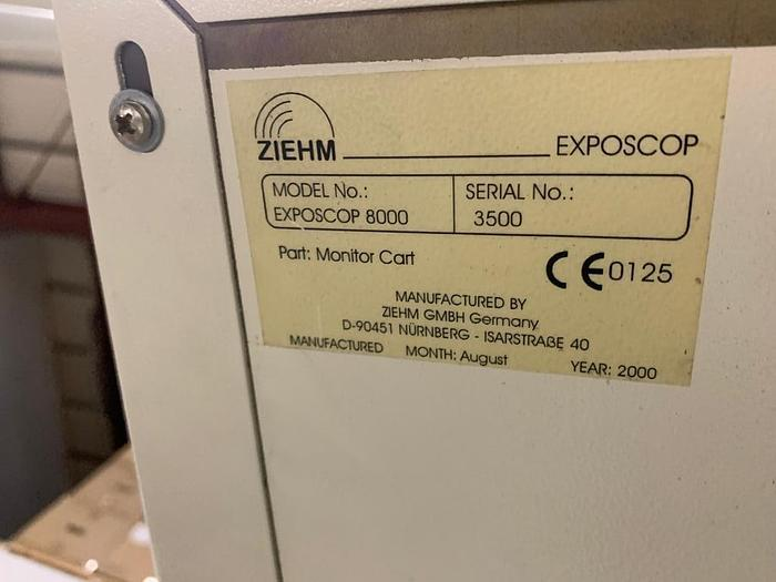 2000 C-BOGEN ZIEHM EXPOSCOP 8000 - COMPACT