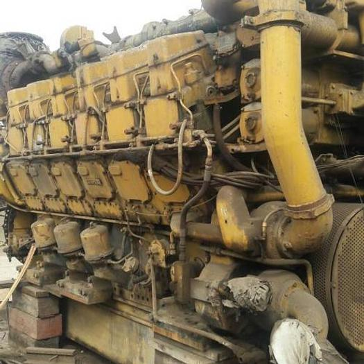 3.88MW Used Caterpillar 3612DITA Marine Propulsion Engine