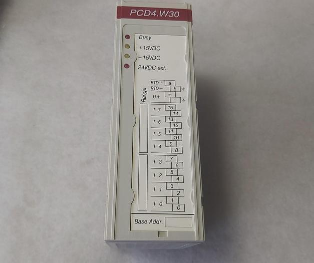Saia PCD4.W300, Version D,