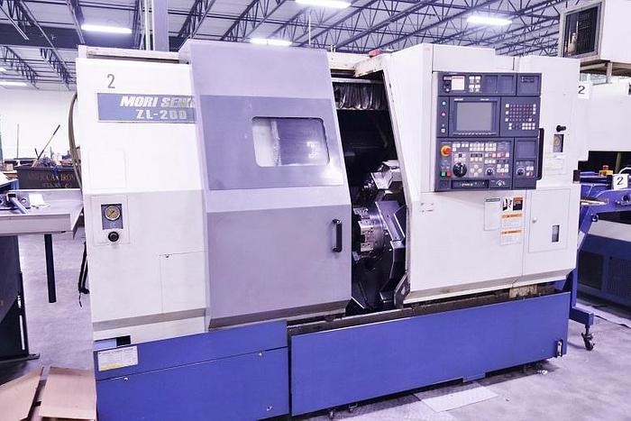2001 Mori Seiki ZL 200 S CNC Lathe ZL 200 S