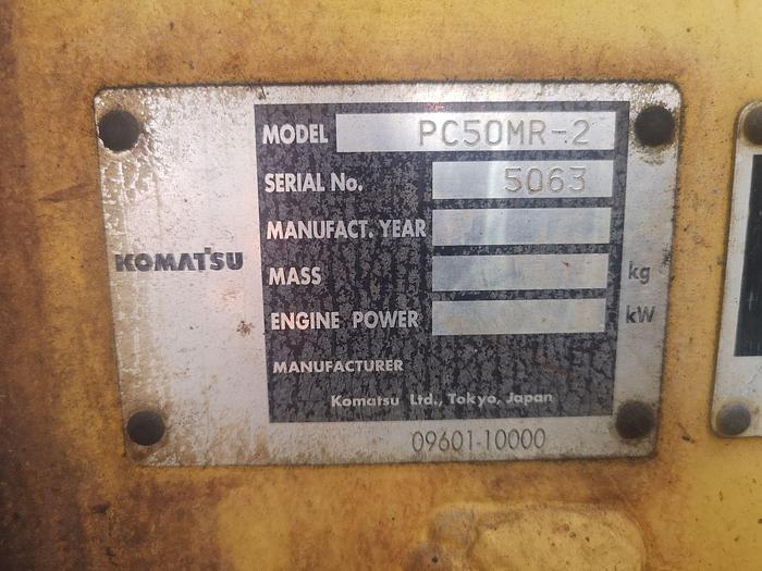 Komatsu PC50
