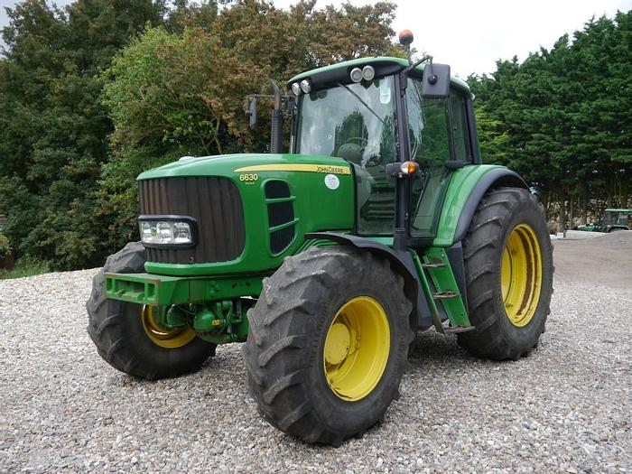 Used John Deere 6630 Premium 4wd Tractor