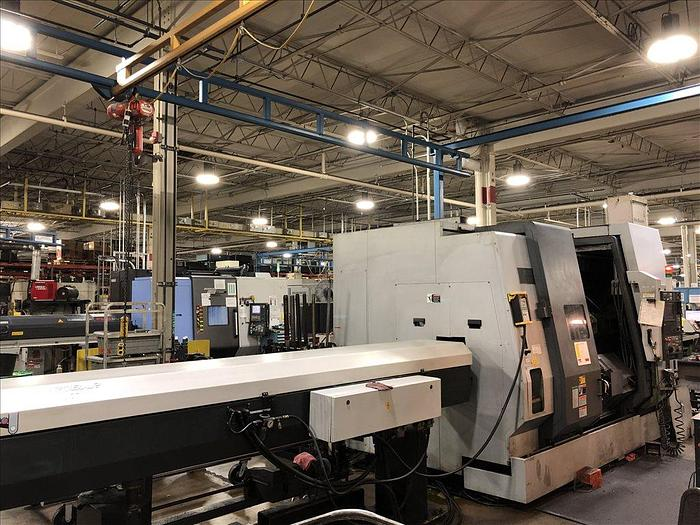 2003 Mori Seiki ZT2500Y 4-AXIS TWIN SPINDLE TWIN TURRET CNC LATHE W/ LIVE MILLING