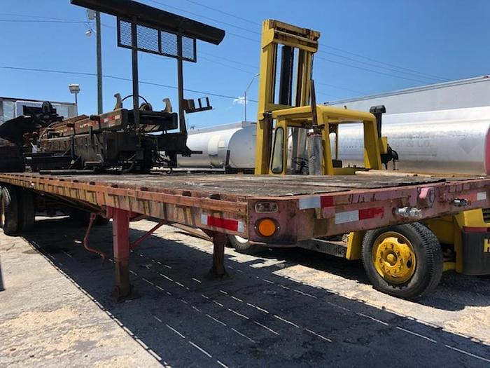 Used 1978 RAVE FLAT BED TRAILER