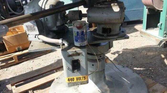 US TOOL 48 INCH MOTORIZED HORIZONTAL SHEET METAL UNCOILER / DECOILER