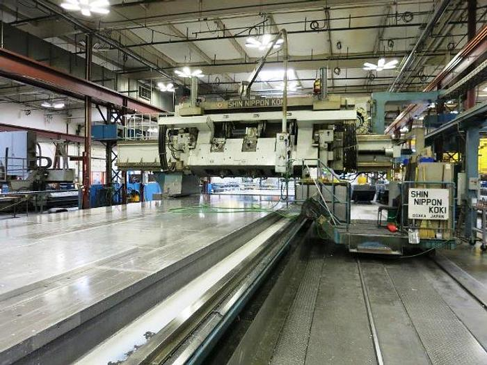 Used SNK 3 Spindle 5-Axis Gantry Profiler Gantry