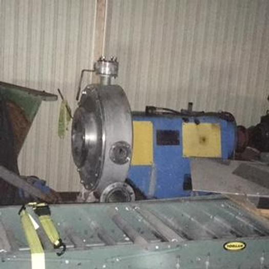 Used LUBRIFICATION UNIT AND DISPERGER HEAD (MOTOR NOT INCLUDED)