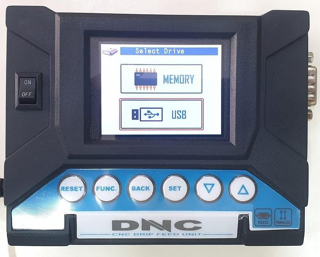 DNC Drip Feed Unit for CNC Machines (USB support for CNC)