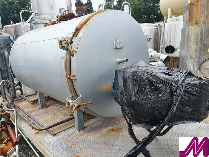 Used 2015 Byworth Boilers 1500 kg/hr Steam Boiler Skid Mounted
