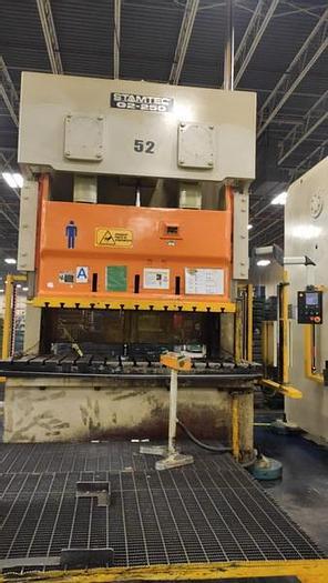 Used 250 ton Stamtec 2Pt. Gap Pres