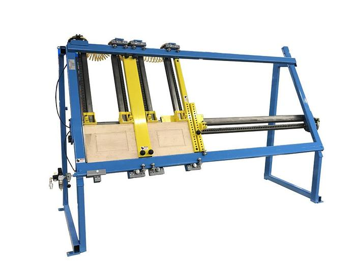 Large Capacity Double Door Clamp Model: #717A-8-DDC