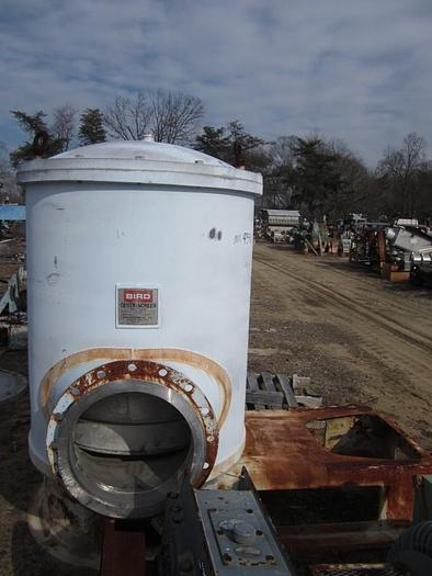Used BIRD MDL 40 PRESSURE SCREEN S/S 9000 GPM