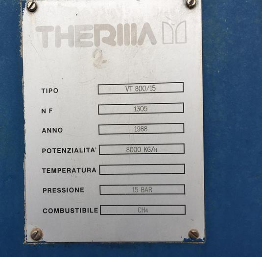 BOILER THERMA  VT800/15