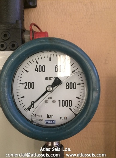 Rehobot Hydraulics 1000 bar Two stage Hand Pump Type PHS-374.36