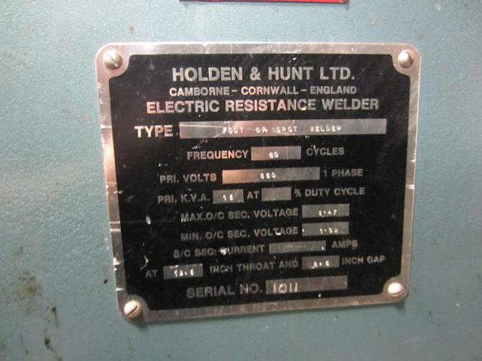15 KVA FH Holden Hunt Spot Welder 5467