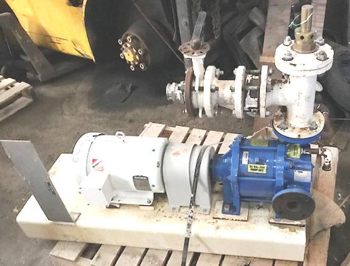 Used 2005 Nash  GL35/7 Liquid Ring Vacuum Pump