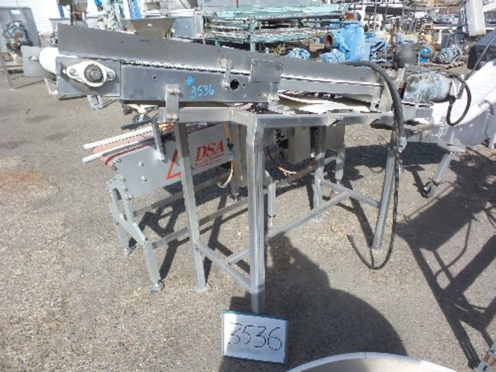 15'' Wide x 7 1/2'' Long Intralox Belt Conveyor #3536