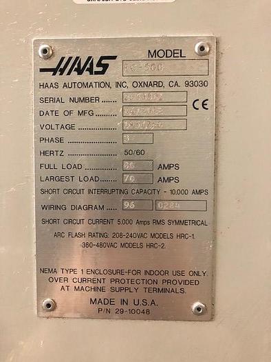 2012 HAAS  EC 500