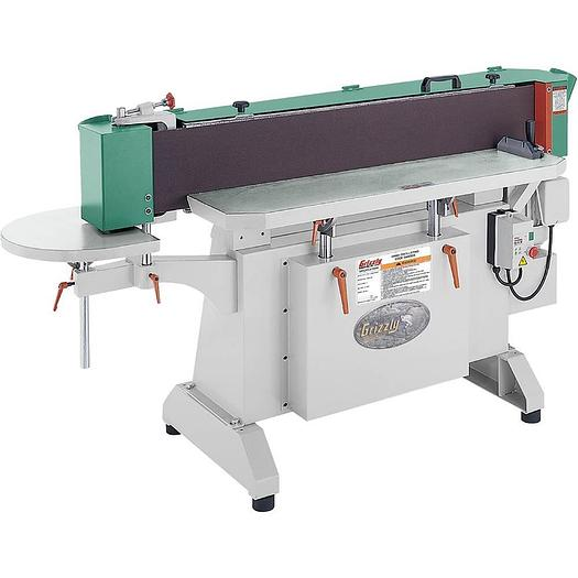 """Grizzly G9984 - 9"""" x 138-1/2"""" Industrial Oscillating Edge Sander"""