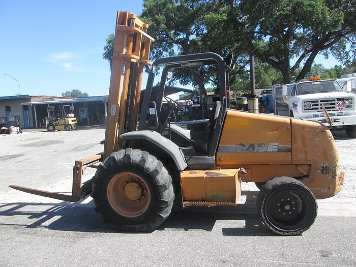 Used Case 580G All Terrain Forklift