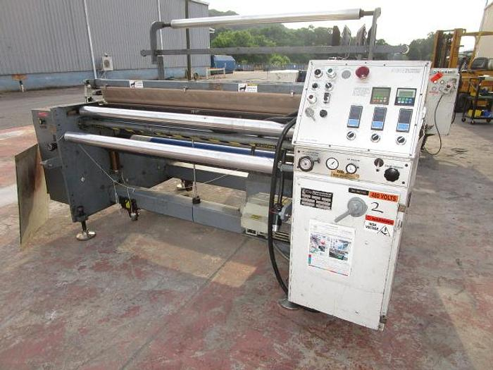 """Used 70"""" Gloucester Engineering Co 418HE In Line Bag Machine"""