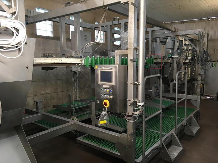 Used Meyn Rapid HQ breast cap filleting machine