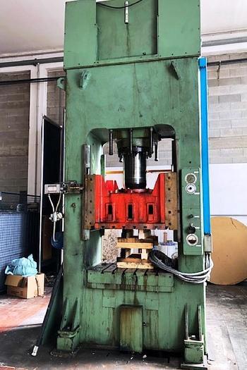 Usata pressa idraulica da 150 ton