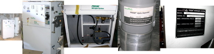 Air Products Prism Cabinet Membrane Nitrogen System