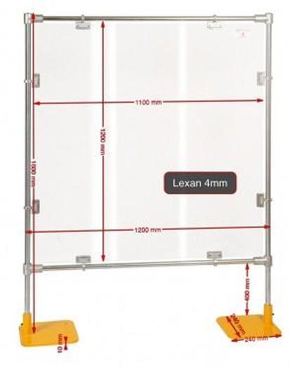 Repar2 PM-2 Freestanding Protection Screen