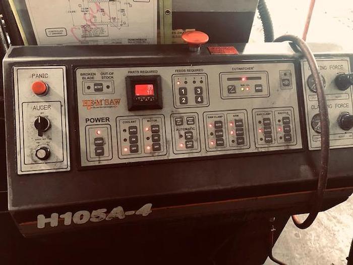 2008 HEM  H-105A-4 Automatic Horizontal Band Saw