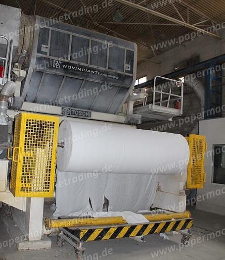 (PMT-40) - Tissue Paper Machine, Crescent Former - 2650 mm - Toscotec, Italy