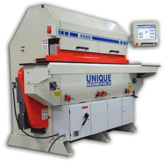 Used Unique Machine and Tool Unique 4500 Series Shape and Sand Machine