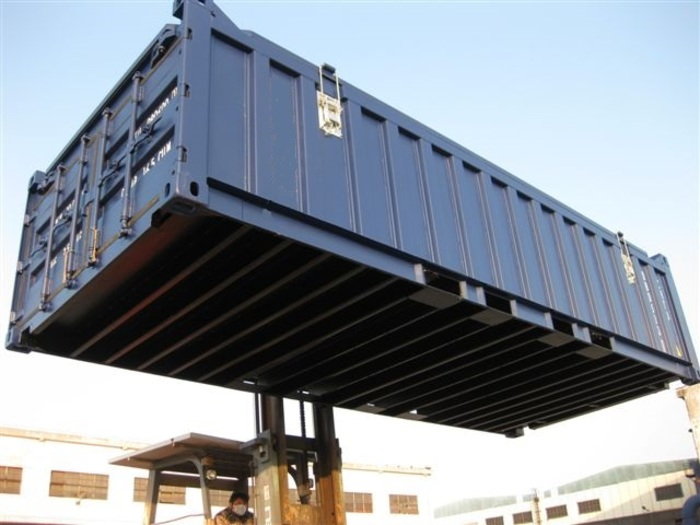 20 'Container Open Top Hard Top 4'3 ""