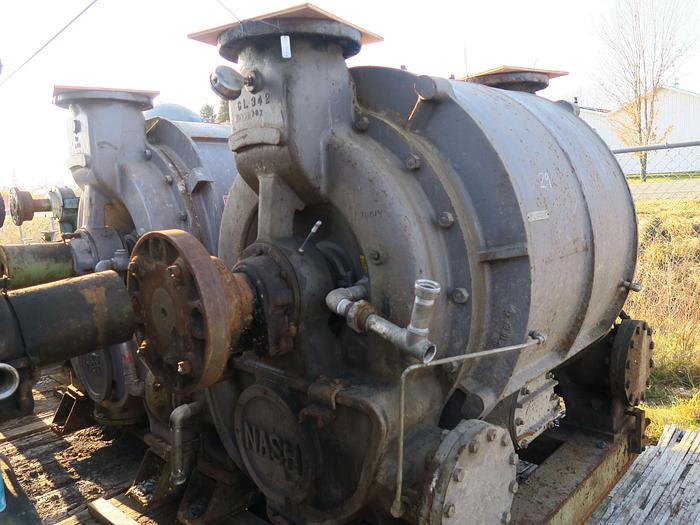 Used NASH CL6002 VACUUM PUMP S/S CLADDED