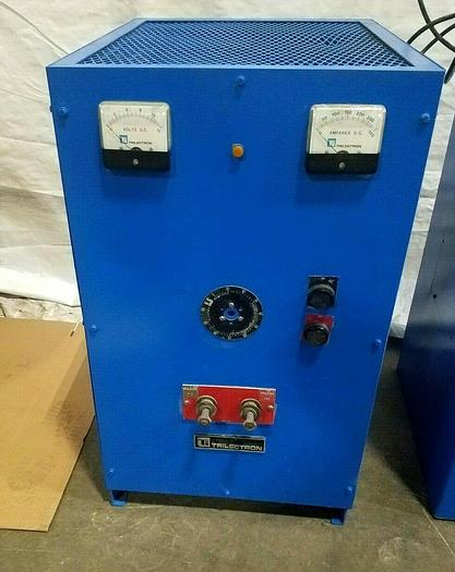 Used Trilectron 300 Amp 12 Volt DC Power Supply Rectifier in Unknown Condition