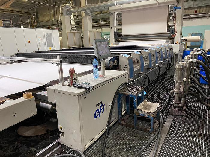 Used REGGIANI Rotary printing machine