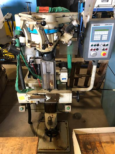 Used TECHNICA ZSM 5100-815 CNC CENTER HOLE GRINDER