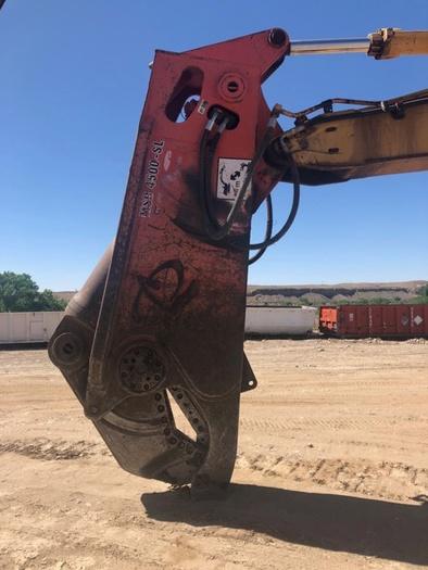 HB18243 Cat 350 excavator with MSD 4500 SL Schear