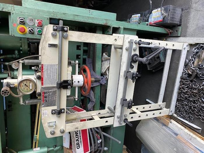Used Jet Model HP-15A H-Frame Press 15 Ton Hydraulic