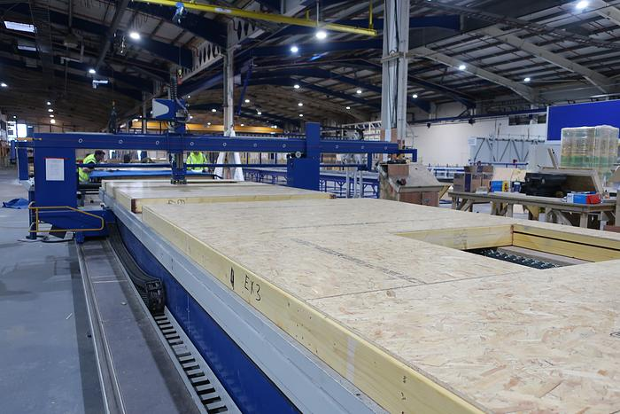 The Complete Assembly Machine For Timber Frame Panel Walls