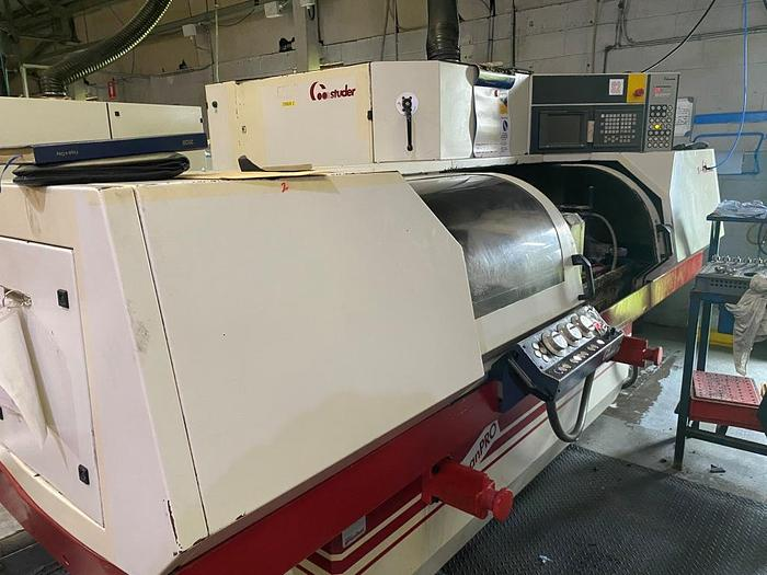 Used 2000 Studer S30 Lean Pro CNC ID/OD Cylindrical Grinder