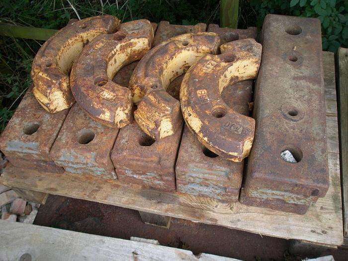 Used Rear Wheel Weights (Massey Ferguson)