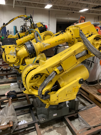 FANUC R2000iA/210F 6 AXIS ROBOTIC ARM ONLY