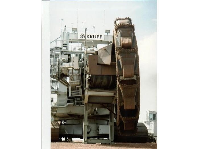 1986 Krupp Bucketwheel Excavator