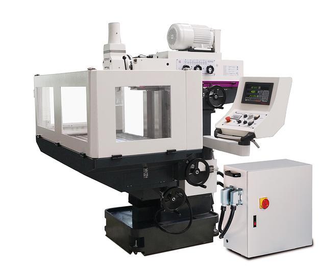 2020 Optimum OPTImill MZ4 konventionelle Universal Werkzeugfräsmaschine