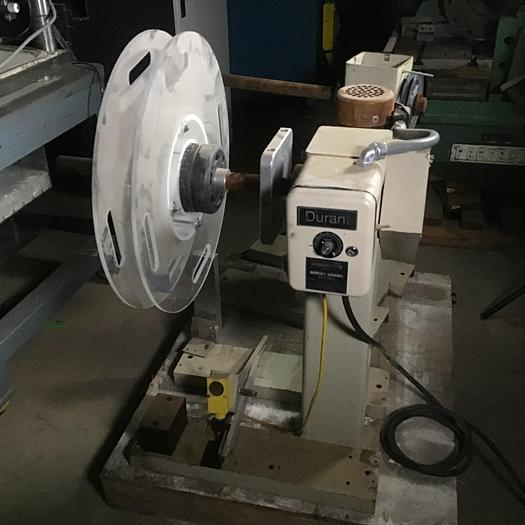600 lb. Durant Mdl. DMD-3 Single End Uncoiler