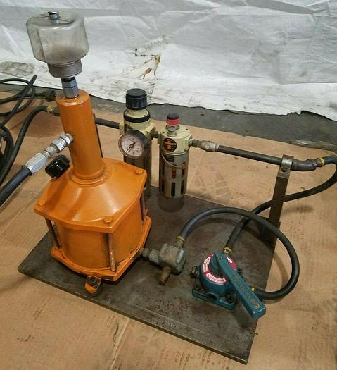 Used Pneumatic Hydraulic Control Unit
