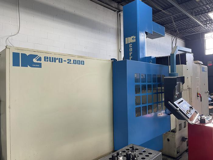 "Used 39"" X 78"", NICOLAS CORREA, EURO 2000, CNC GANTRY MACHINING CENTER"